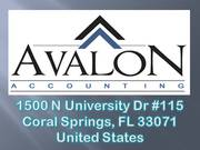 Avalon Accounting (Coral Springs,  FL)