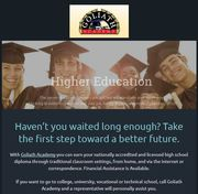 Accredited High School Diploma Online,  at Home or in Class!